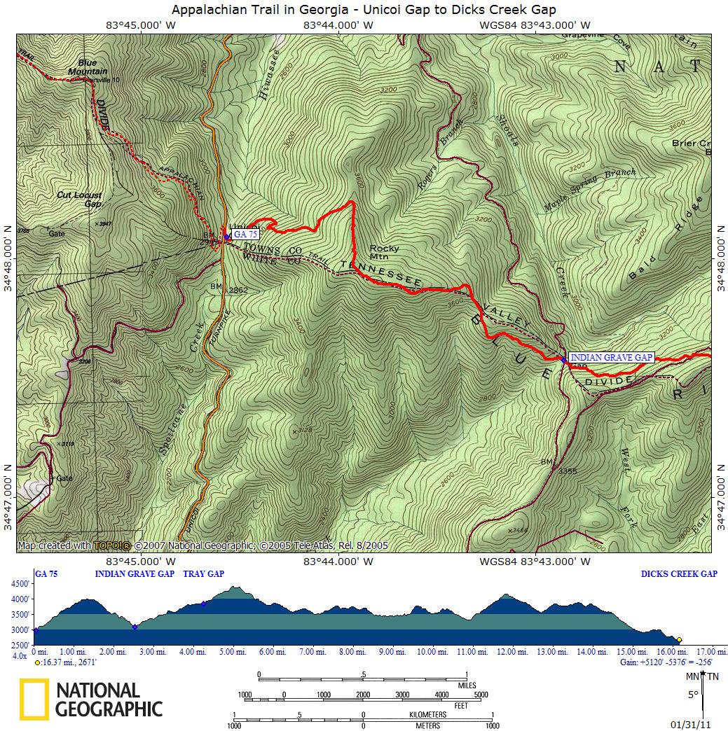 Georgia Appalachian Trail Map Pdf – Jerusalem House