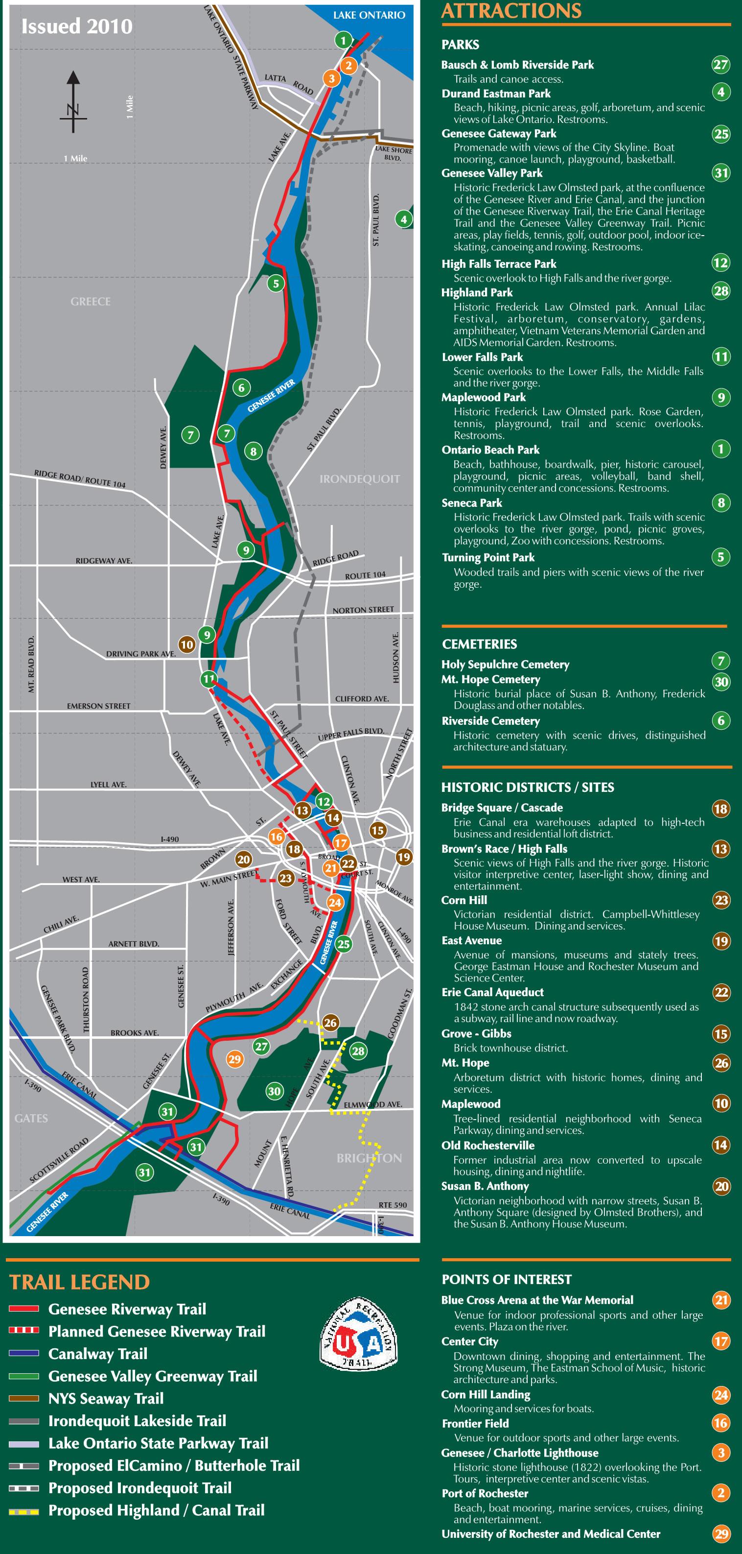 genesee riverway trail