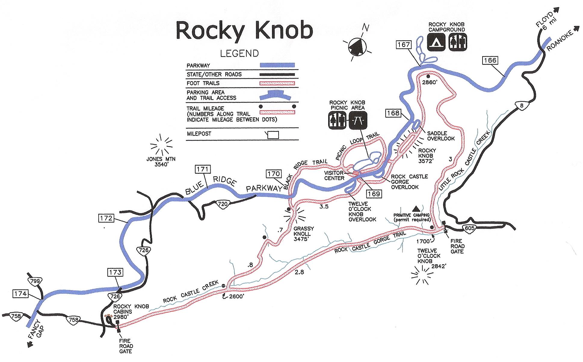 Rocky Knob Recreational Area